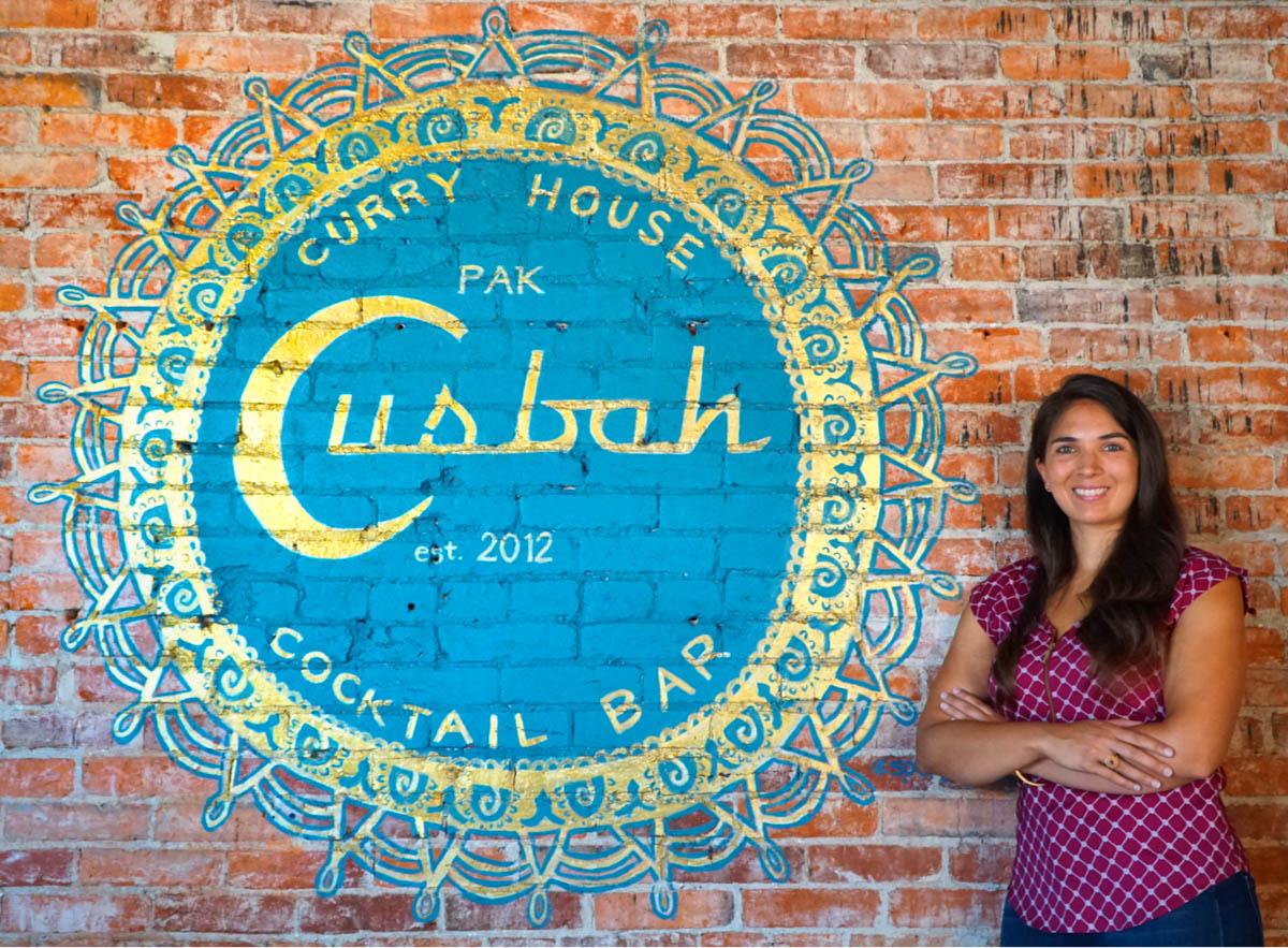 Soophia of Cusbah Restaurant